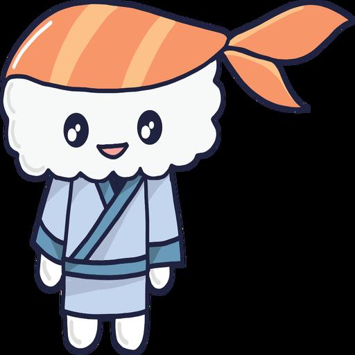 Smiley Kawaii Sushi Boy Cartoon Ad Paid Paid Kawaii Cartoon Boy Smiley Smiley Kawaii Cartoon