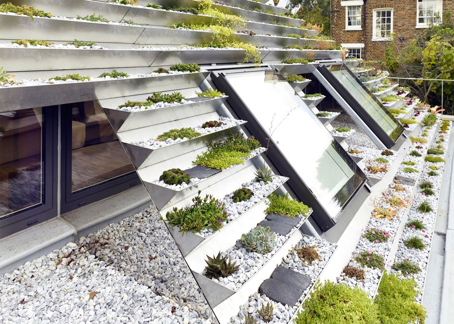 Garden House By Hayhurst And Co Green Roof Green Facade Roof Garden