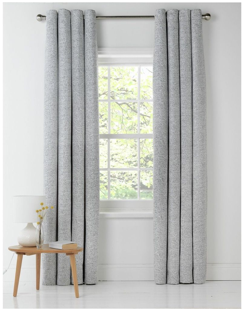 Grey texture curtains Curtain texture, Home furnishings