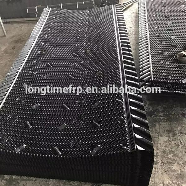 Original Plastic Honeycomb Pvc Pp S Wave Cooling Tower Fill