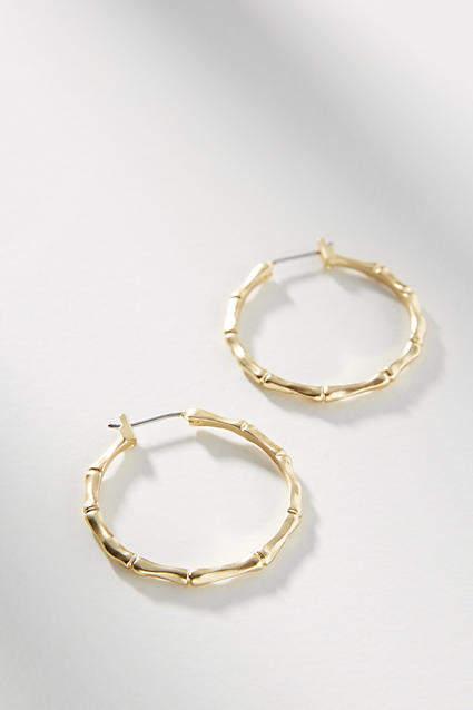 Glitter Oval Hoop Earrings in 14K Gold-Bonded Sterling Silver