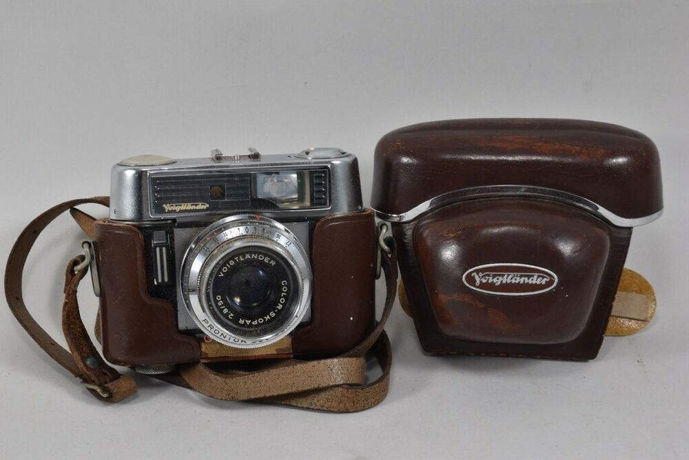 Ebay Sponsored E86l10 Alte Fotokamera Voigtlander Vitomatic Iib