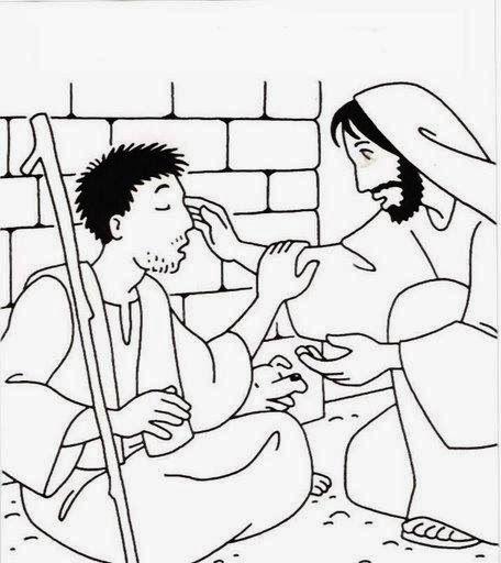 Jesus Curaba Enfermos Para Colorear Milagros De Jesus Artesanias De Historia De La Biblia Manualidades De La Biblia Para Ninos