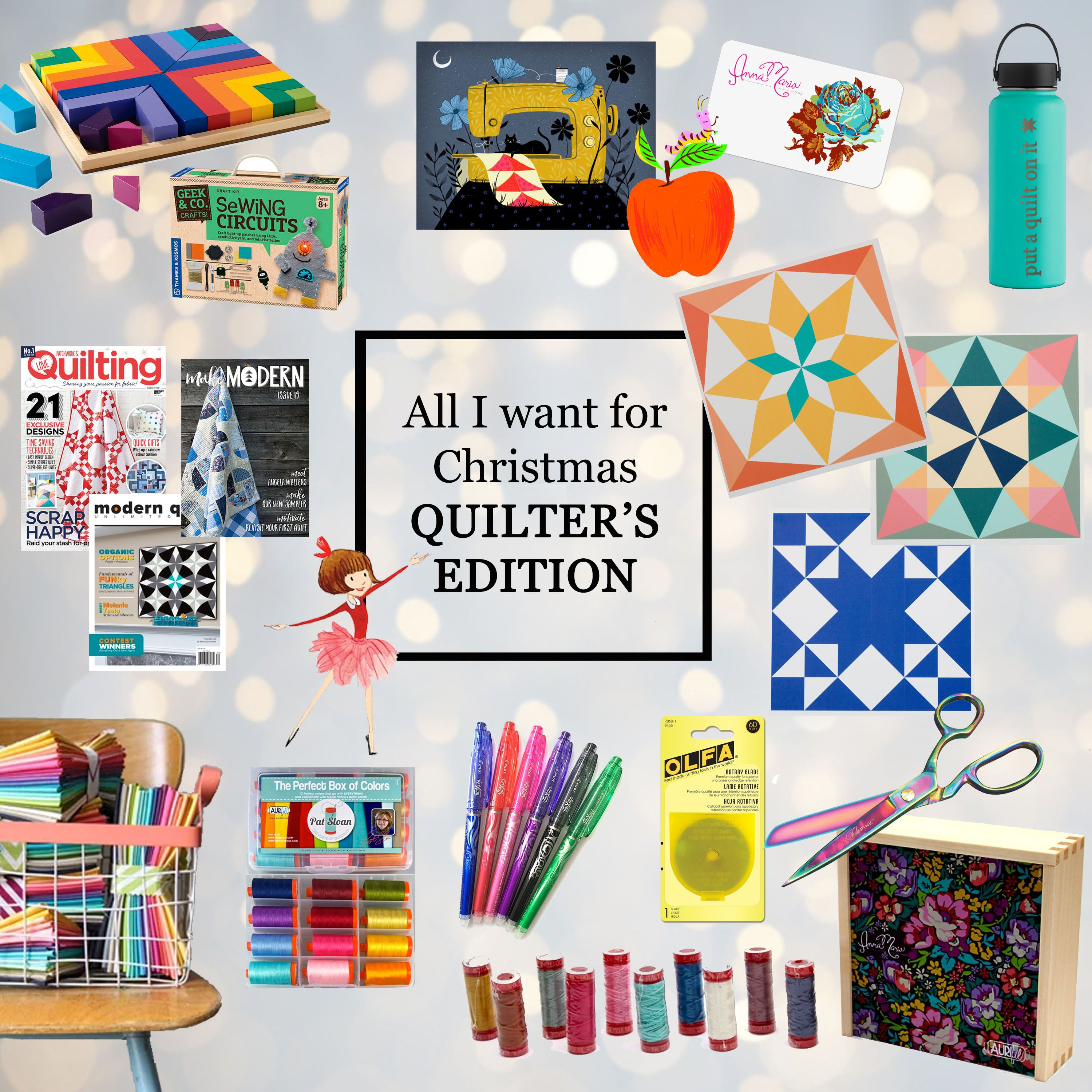 The Quilter\'s Christmas Wish List