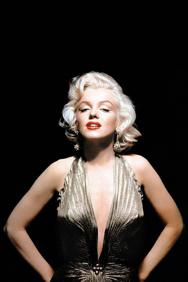 mmonroepop parallax HD iPhone iPad wallpaper Marilyn