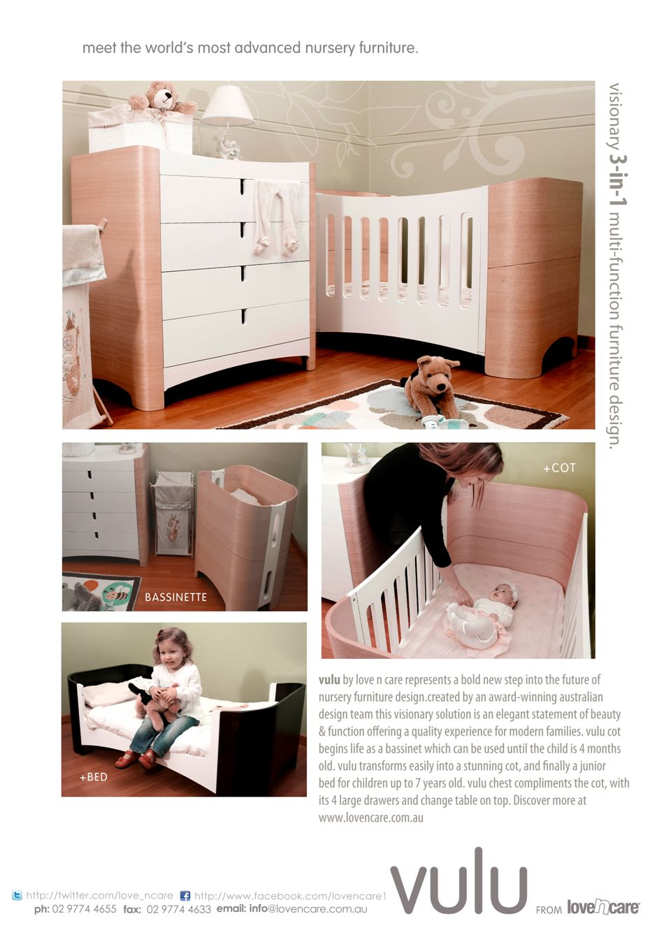 Vulu by Love N Care... coming soon!   The girls   Pinterest   Cots ...