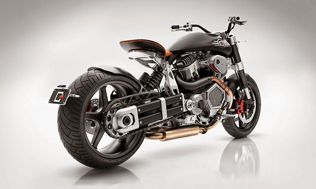 Racing Cafè: Confederate X132 Hellcat Speedster 2014