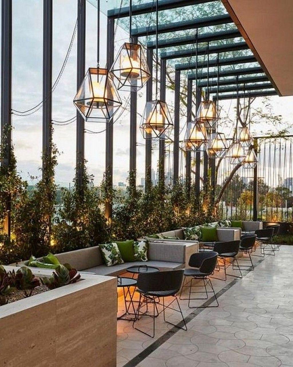 45 pretty outdoor restaurant patio design ideas for