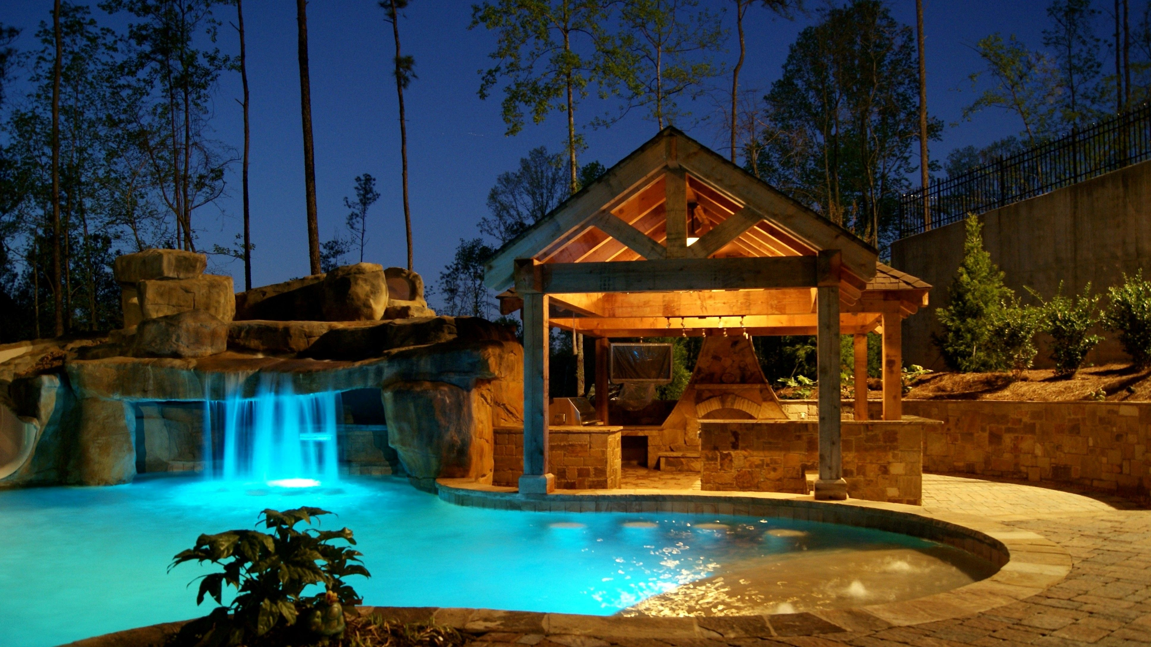 surprising dream living room pool | Georgia Dream Pools - Outdoor Living SpacesGeorgia Dream ...