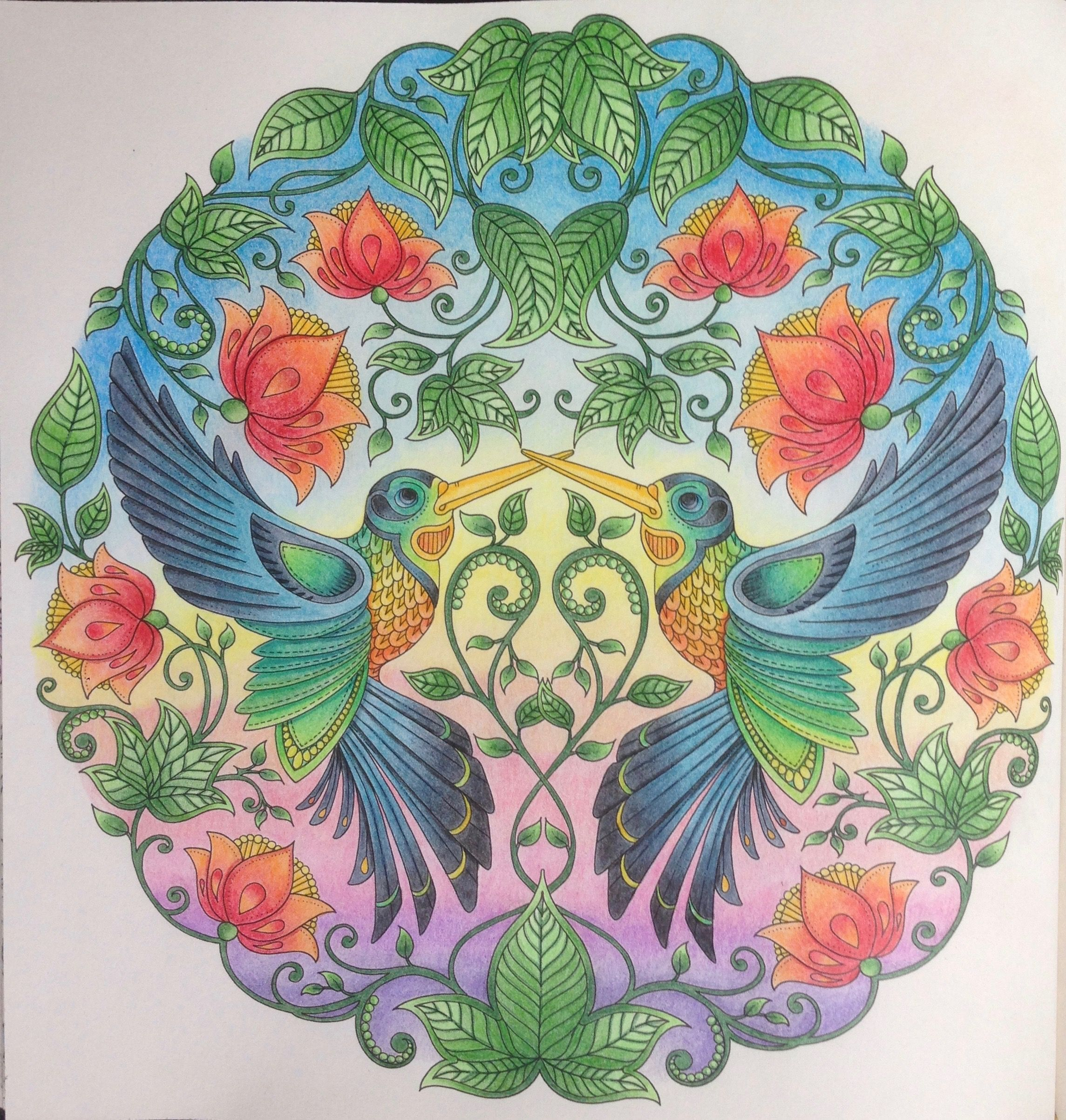 take a peek at this great artwork on johanna basfords colouring gallery - My Secret Garden Coloring Book