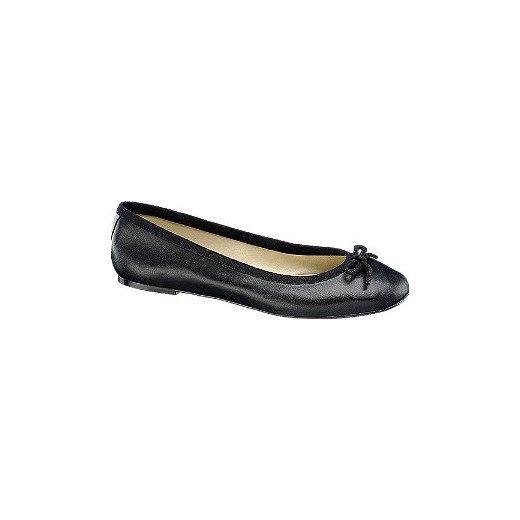 Baleriny Damskie Deichmann Czarny Kokardka Shoes Loafers Fashion