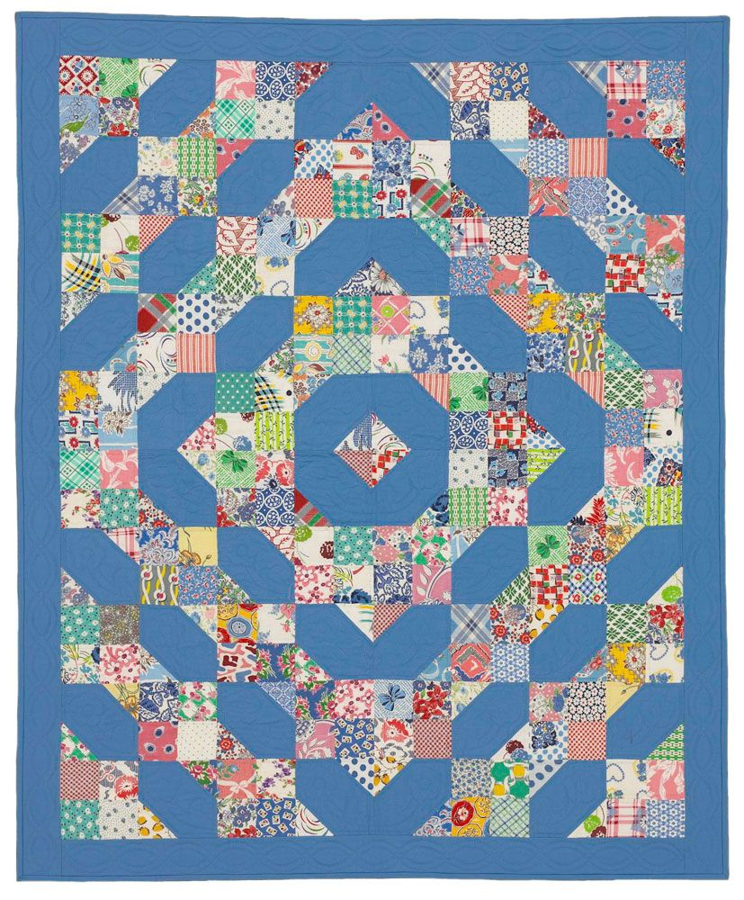 Fresh Tradition: Showcase a collection of your favorite fabrics ... : simple quilting patterns free - Adamdwight.com