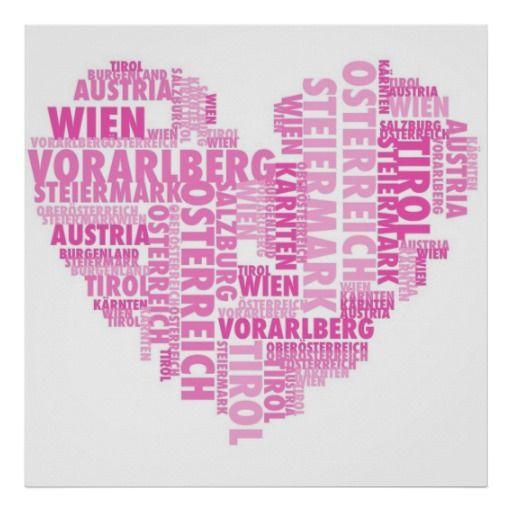 Österreich in Worten, pink