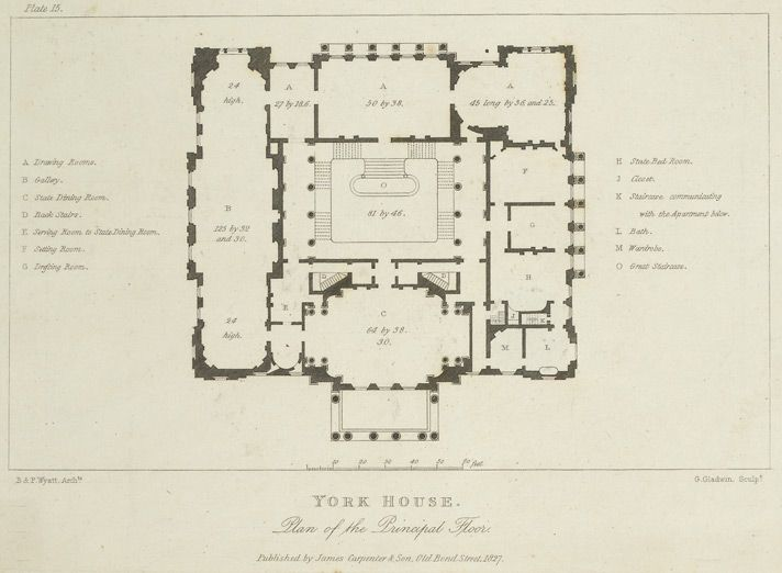 Lancaster House Lancaster House Courtyard House Plans Vintage House Plans