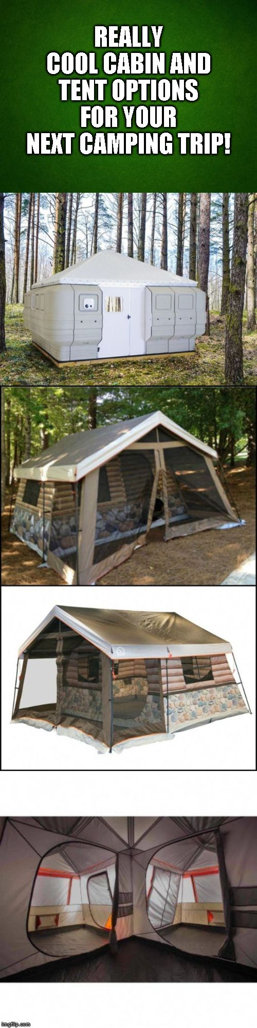 Cool Tent & Camping Options!   Best tents for camping ...