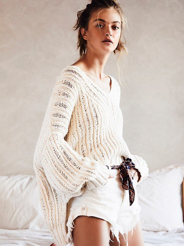 d60d4ce645 Infinite V-Neck Sweater from Free People!