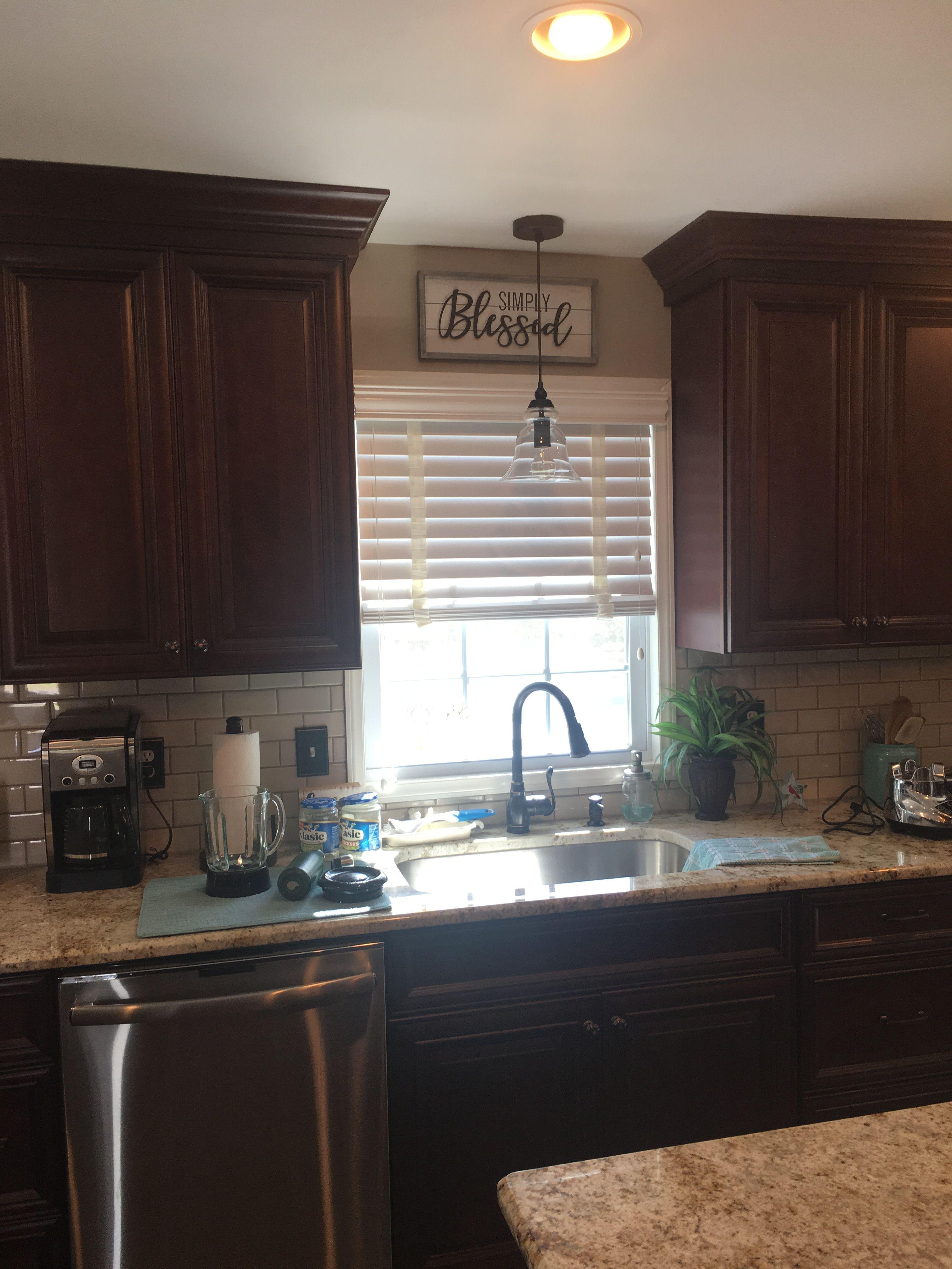Kitchen Window Sign