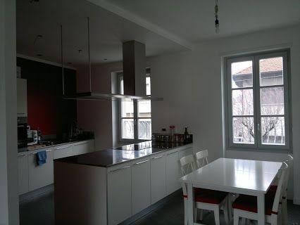 cucina one + Ernestomeda laminato larice bordo alluminio piano inox ...