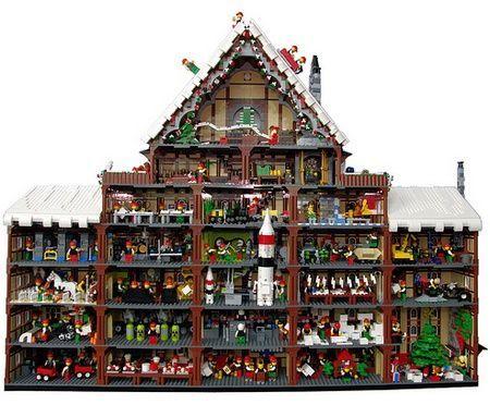 Depuis le temps qu'on s'émerveille devant les constructions Lego du blog «The Brothers Brick», il fallait qu'on en parle sur Ecrans.fr. Petite sélection de Noël.