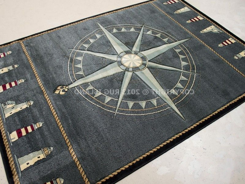 Small Nautical Area Rug