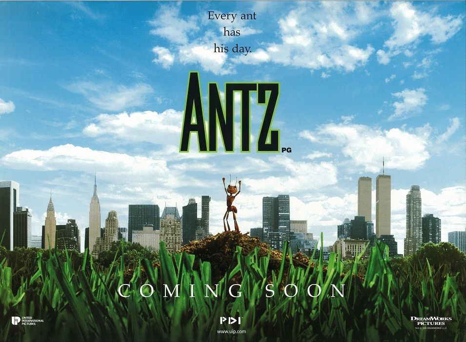 Antz movie poster - 12 x 16 inches - Animation
