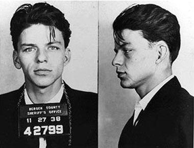Frank Sinatra 24x36 poster mug shot BRAND NEW MINT CONDITION LICENSED Blue Eyes!