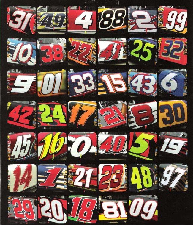race car numbers race car classroom pinterest racing