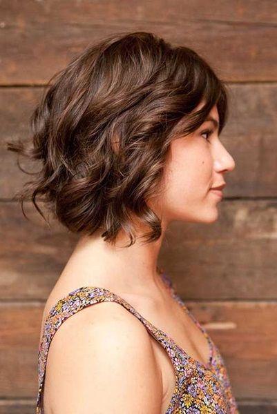 Frisur kurz dickes haar