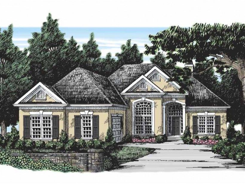 1 Story 1891 Square Foot Ready To Build House Plan From Builderhouseplans