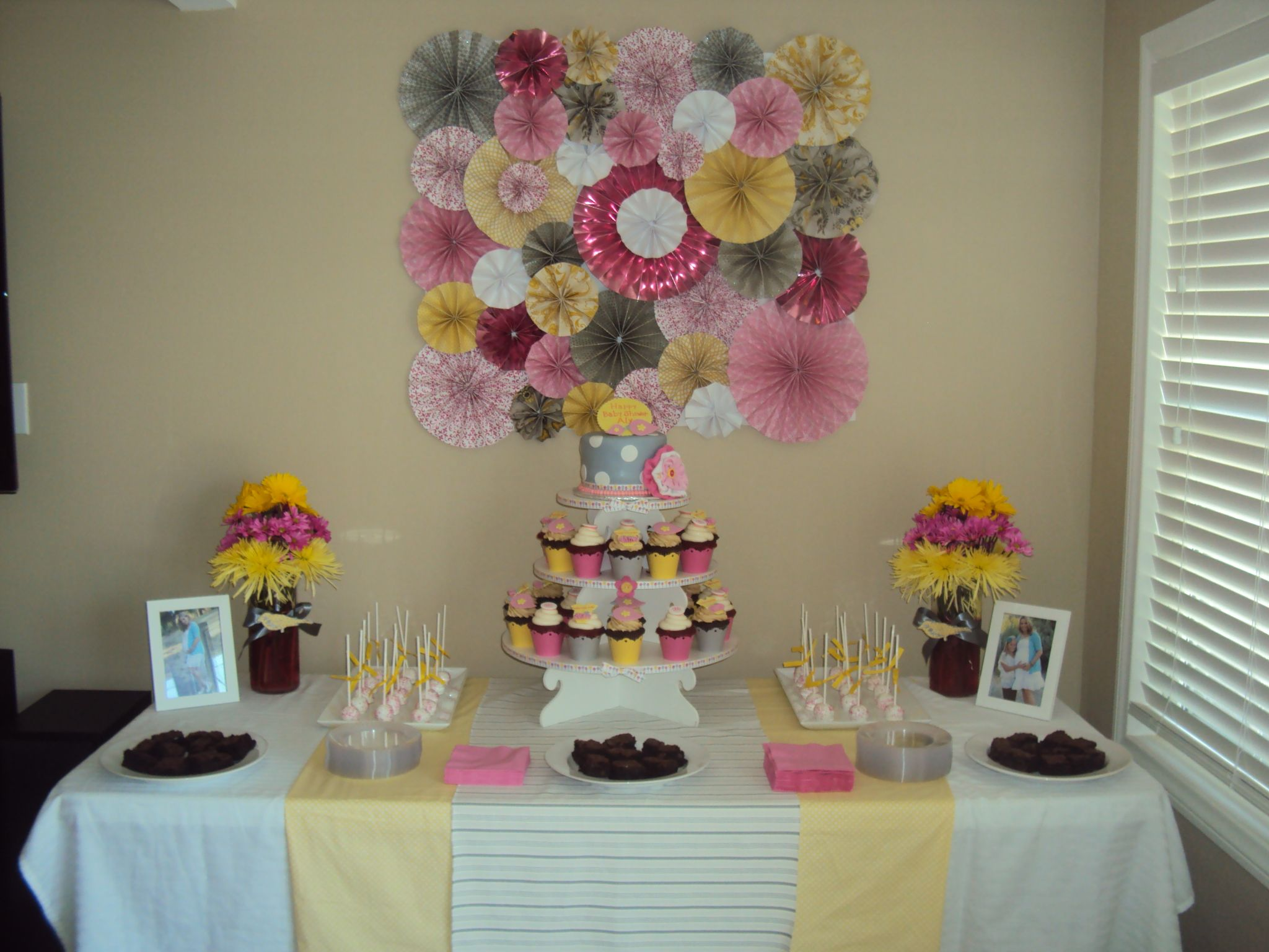 baby shower dessert table party invitations ideas