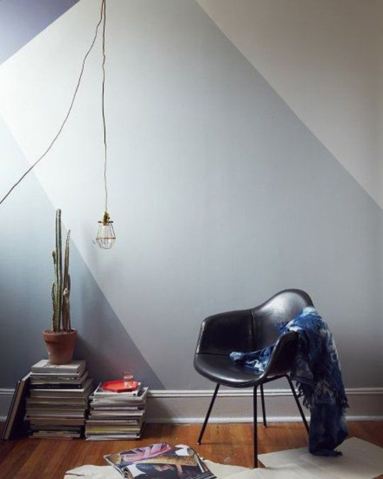 For Your Inspiration Board 10 Ideas Defining E With Colorblocked Walls Apartment Therapy