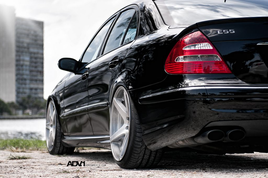 W211 E55 AMG - Same model as I have now, a supercharged