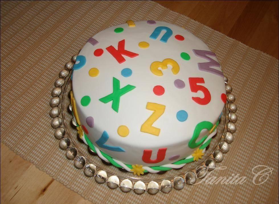 tanya's cakes torte für die einschulung  kuchen