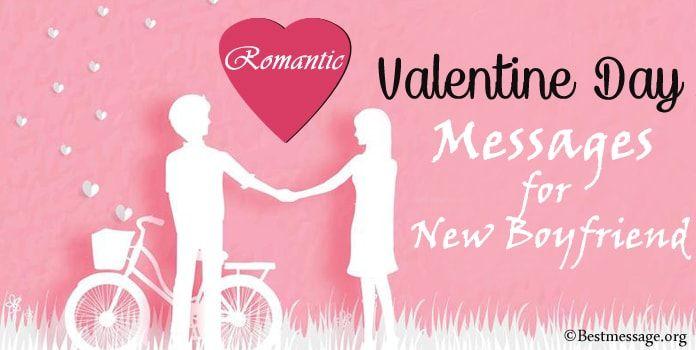 romantic valentine's day messages for new boyfriend