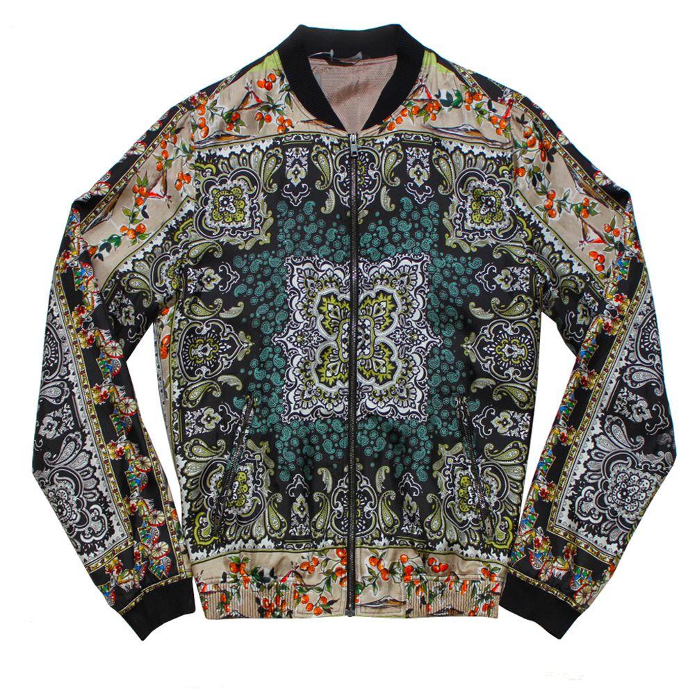 Dolce Gabbana Printed Silk Bomber Jacket Silk Bomber Jacket Silk Bomber Dolce And Gabbana [ 1000 x 1000 Pixel ]