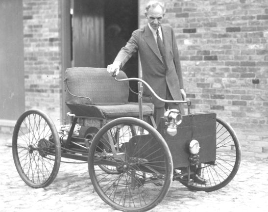 1896 Ford Quadricycle Henry Ford Ford Classic Cars History