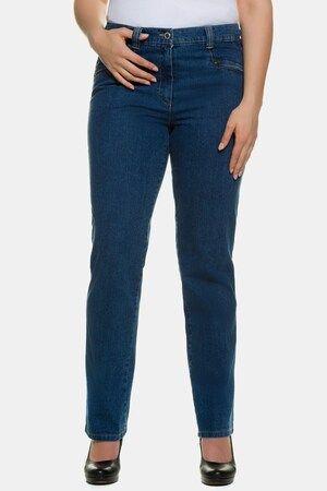 Photo of Jeans Mony, women, blue, cotton / polyamide / elastane, Ulla Popken