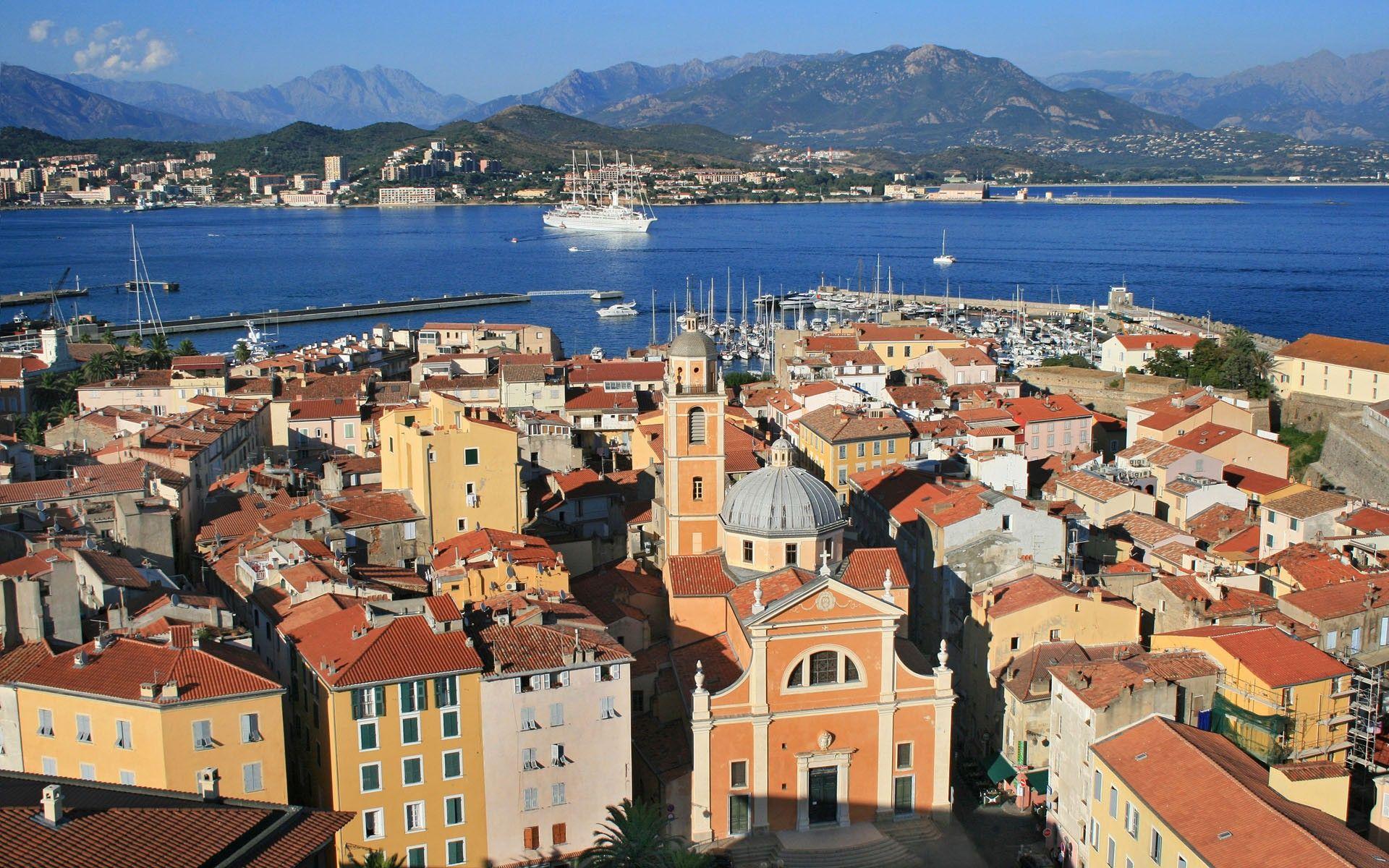 Ciudad de Ajaccio c³rcega Foto it corsica