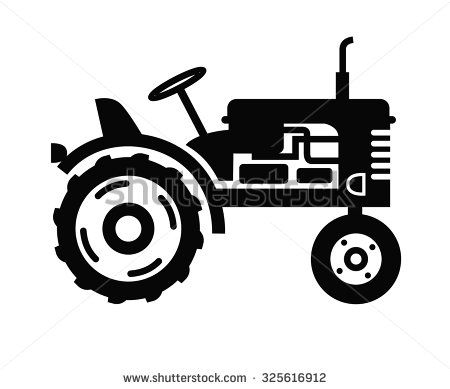 Farm Tractor Silhouette Stock Photos Images Pictures Tractor Silhouette Tractors Tractor Pictures