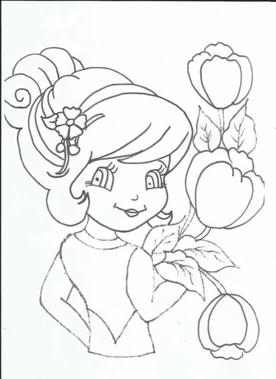 Boneca Com Imagens Padroes Para Pintura Desenhos De Princesas