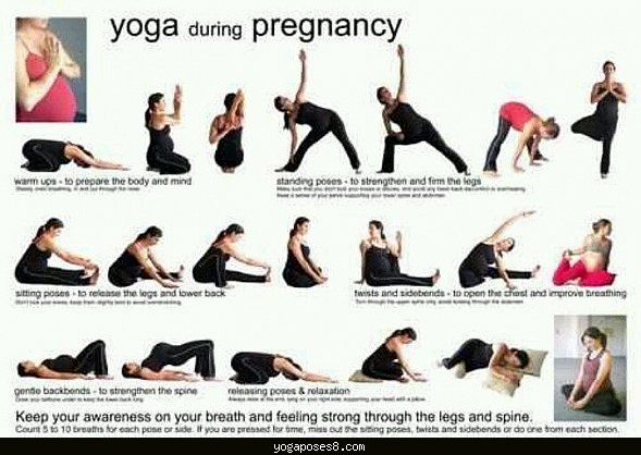 Nice Yoga Poses During Pregnancy Second Trimester