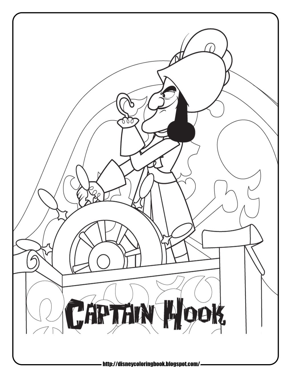 disney coloring pages and sheets for kids jake and the neverland - Disney Jr Coloring Pages Print