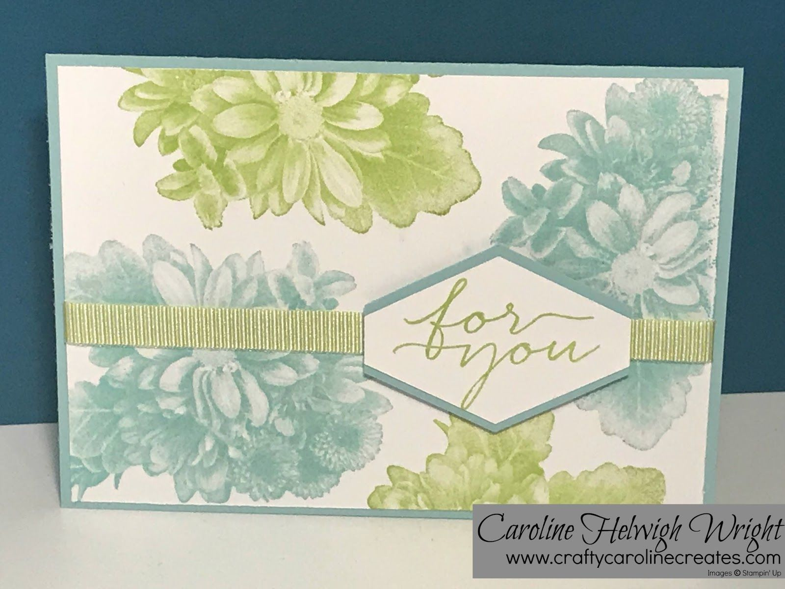A Blog About Papercraft Using Mainly Rubber Stamps And Stampin Up Products By