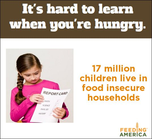 Find out how you can help us fight child hunger