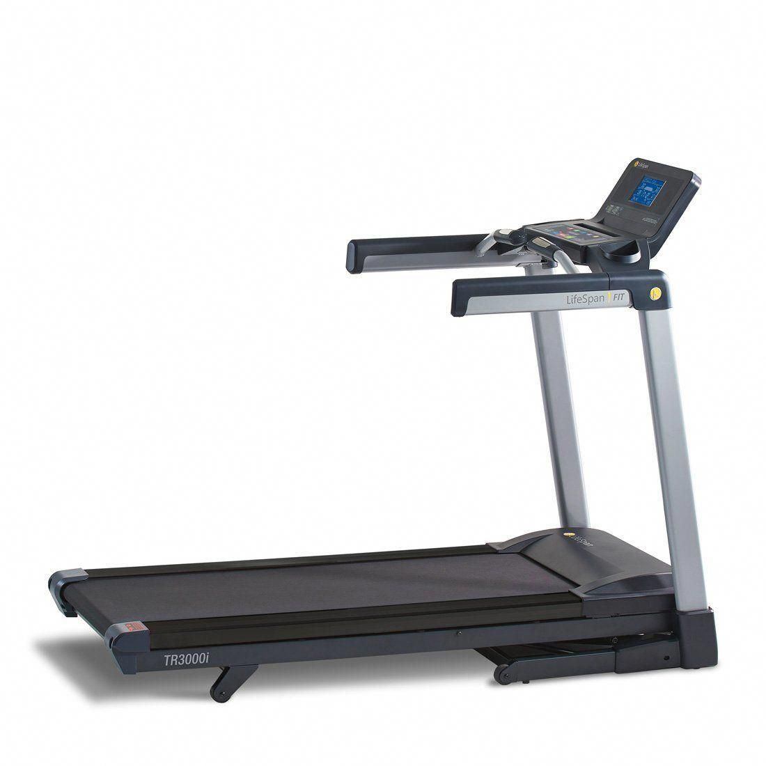 Lifespan Tr3000i Treadmill Simple To Lift And Easy To Lower Ezfold Technology Utilizes A Hydraulic Shock To Assis Good Treadmills Folding Treadmill Treadmill