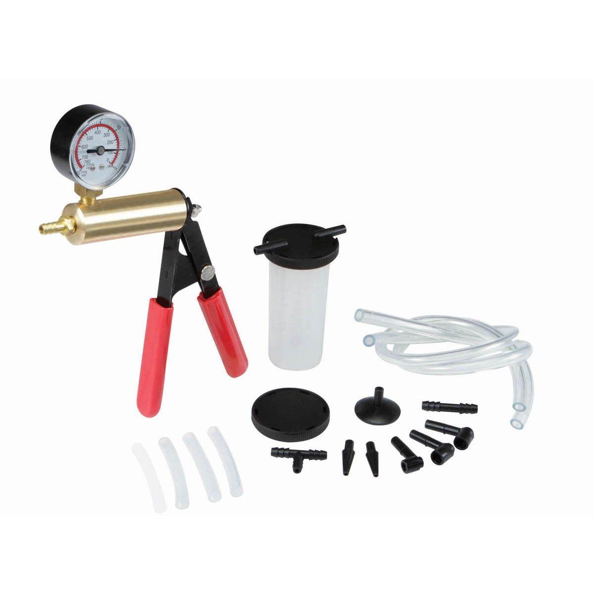Brake Bleeder And Vacuum Pump Kit Vacuum Pump Vacuums Hydraulic Fluid