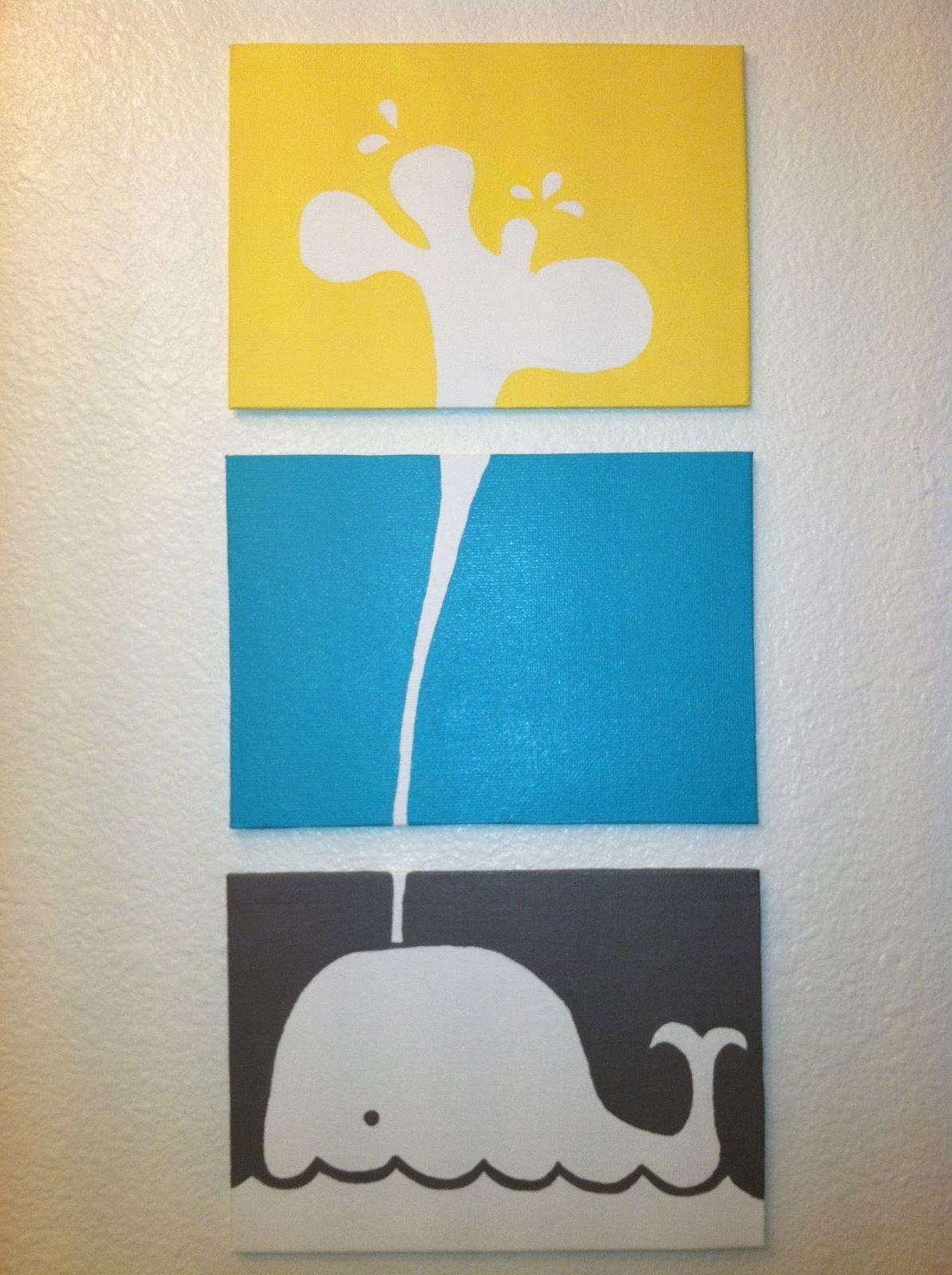 Diy Canvas Art Painting Ideas Jennifer Azzi