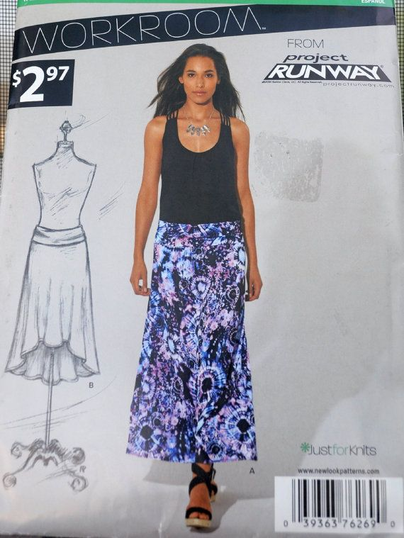 New Look 6269  Cool Project Runway Skirts  Easy Sew by Clutterina