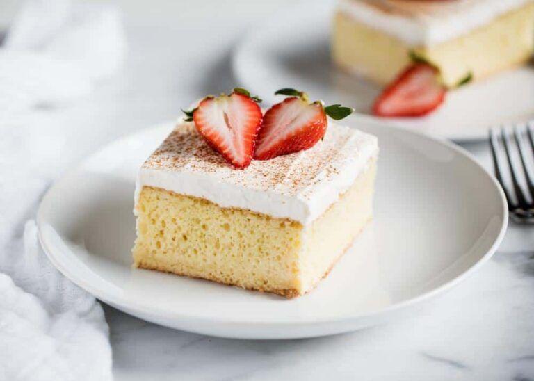 EASY Tres Leches Cake Recipe - I Heart Naptime
