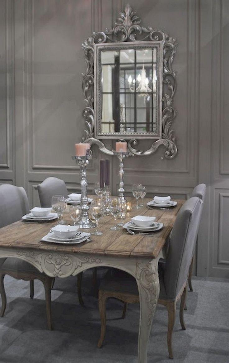 95+ Luxus Französisch Land Esszimmer Dekoration Ideen